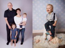 ateliérové foto rodina