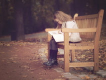 focení dětí v parku v brně